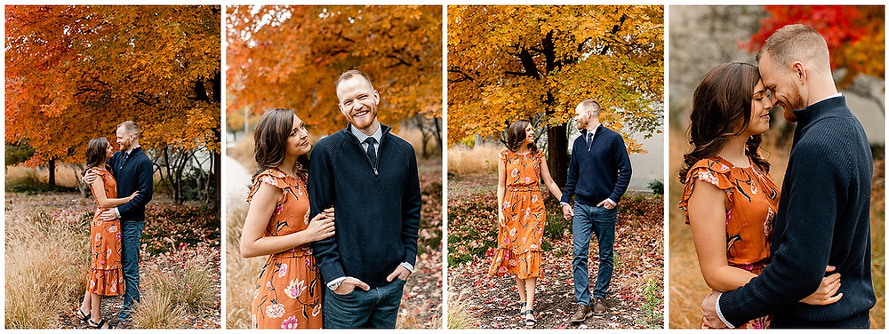 Indianapolis Fall Engagement Session