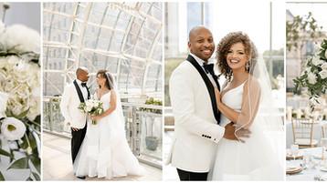 Indianapolis Artsgarden Wedding | Conrad Events | Danielle & Henry