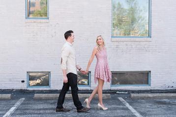 Indianapolis Engagement Session | Liz & Eric