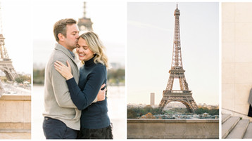 Paris Honeymoon Photo Session |Kate & Josh | Paris Wedding Photographer