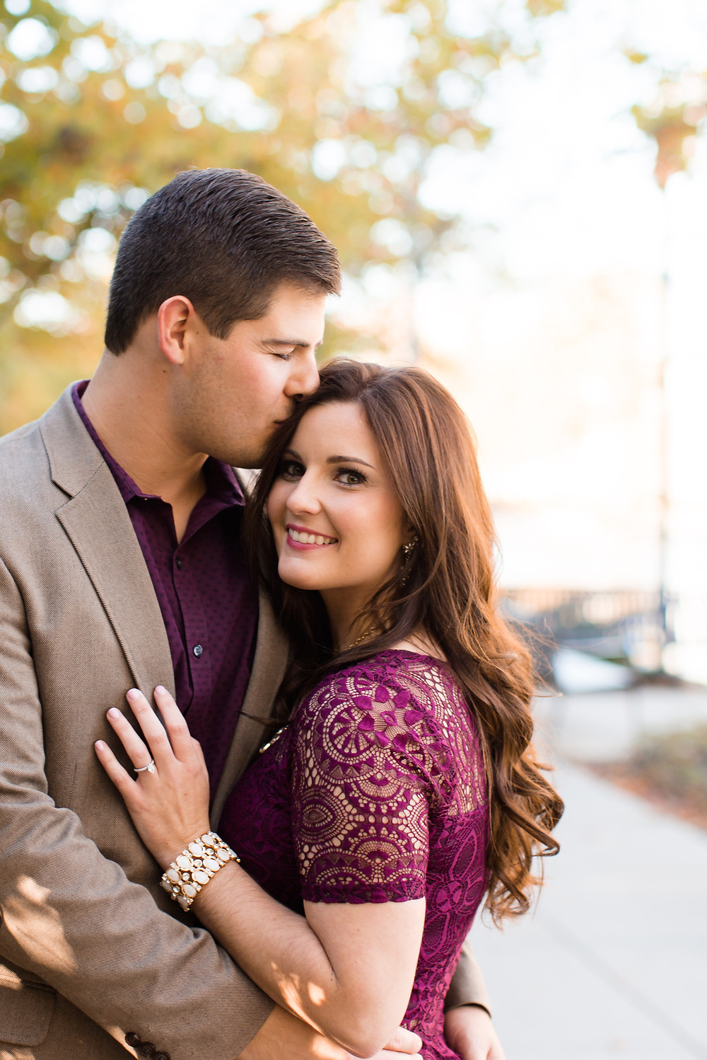 Romantic engagement pictures