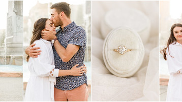 Indianapolis Engagement Session | Maggie & Tyler