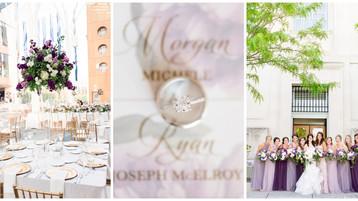Indianapolis Central Library Wedding | Morgan & Ryan