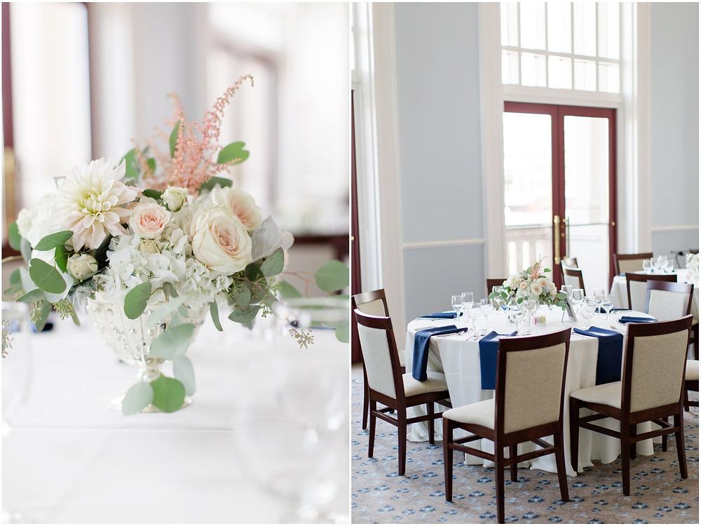 Palladium wedding reception