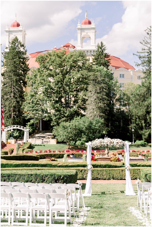 West-Baden-Springs-Outdoor-Ceremony