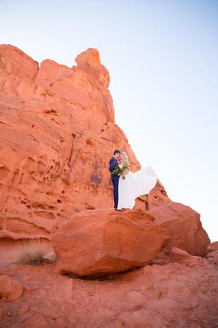 The Valley of Fire   Nevada Destination Wedding