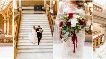 Indiana State House Wedding | Ashley & Brad | Indianapolis Wedding Photography