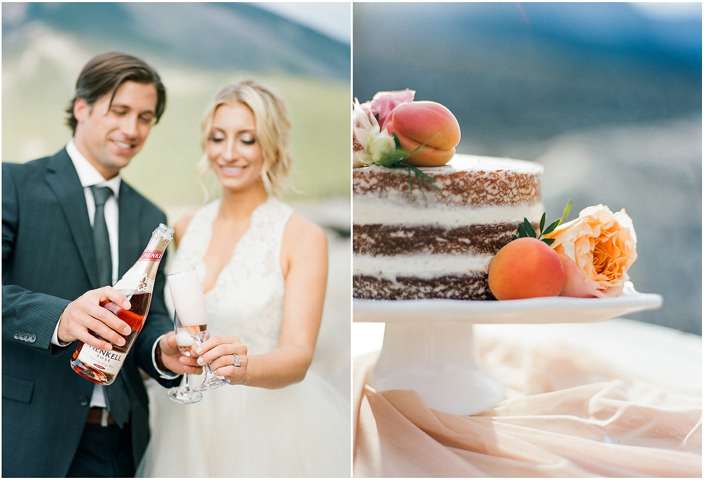 Minnewanka wedding photos
