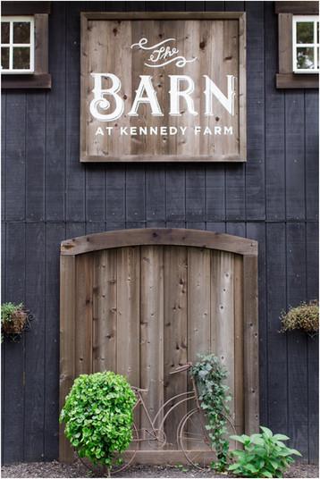 Romantic Outdoor Wedding at The Barn at Kennedy Farm | Amanda & Jake