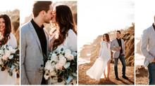 Malibu Engagement Session | Bret & Marlene | Destination Wedding Photographer