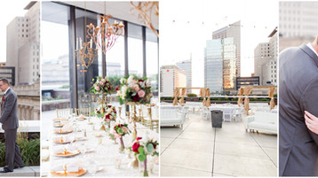 Regions Tower Wedding | Amber & Chris | JPS Events