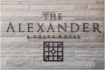The Alexander Hotel Wedding | Kenethia & Anthony