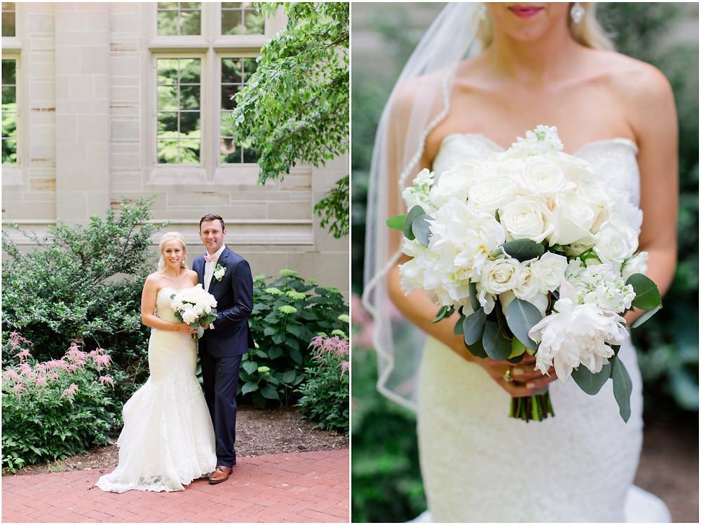 Indiana University wedding