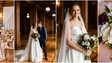 Scottish Rite Cathedral Wedding | Emma & Grant