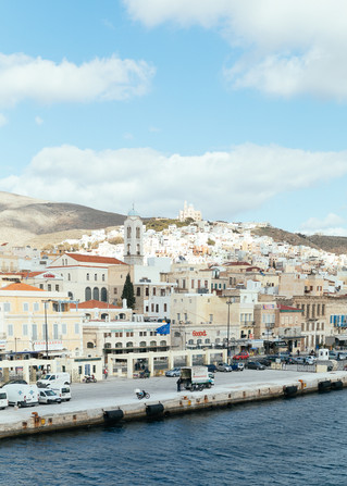 Syros Island, Greece | Engagement