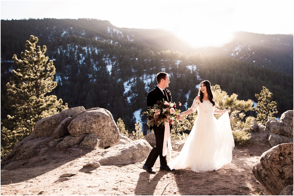 Mountain-top-wedding-boulder