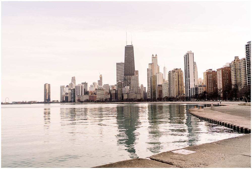 Chicago-skyline-view