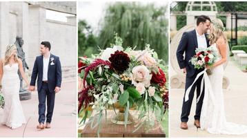 Coxhall Gardens Wedding| Carmel Indiana Ritz Charles| Mallory & Josh