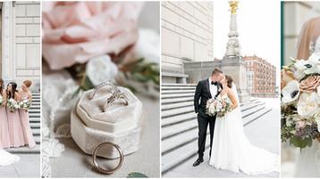 Crowne Plaza and Historic Union Station Wedding | Indianapolis Wedding Photography |Mallory & Carson