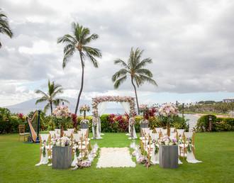 Elegance & Grace   Four Seasons Maui   Destination Wedding
