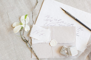 Handwritten Calligraphy Invitations