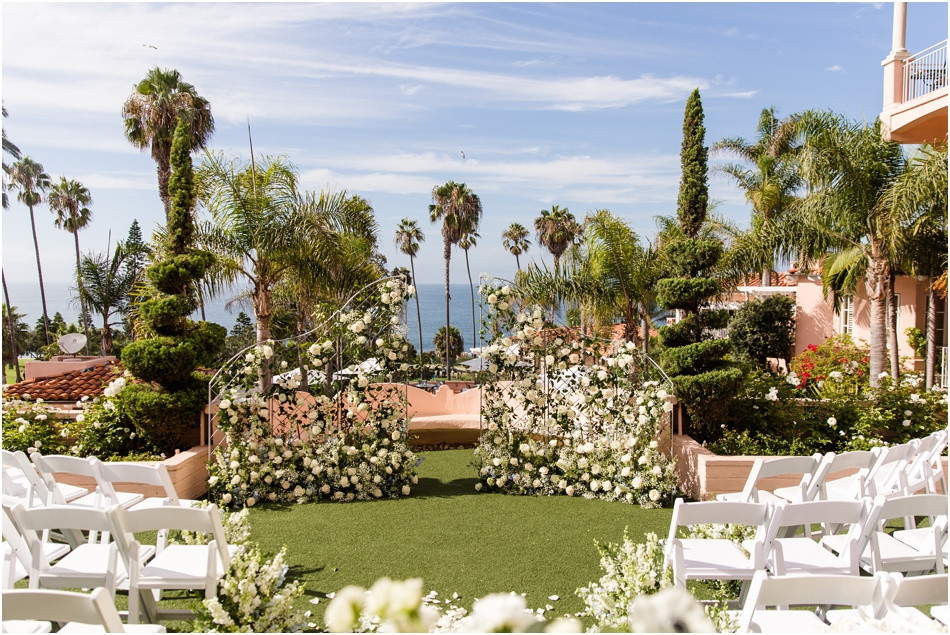 Ceremony- La-Valencia-Hotel