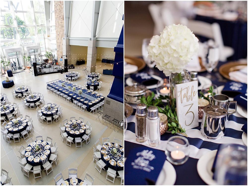 Indiana State Museum Wedding Reception