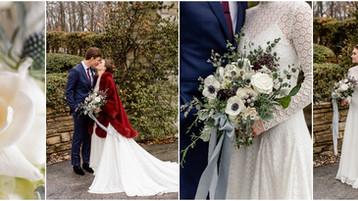 Winter Wedding   Indianapolis Wedding Photographer   Maggie & Tyler