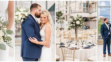 Indianapolis Artsgarden Wedding |