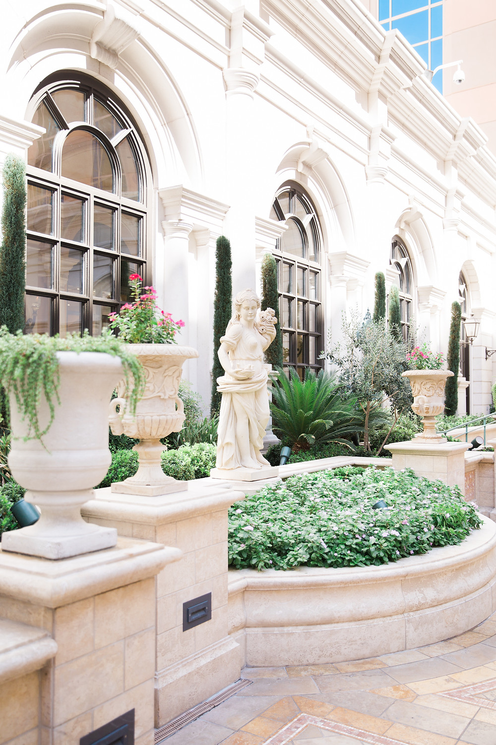 Garden Wedding at the Palazzo