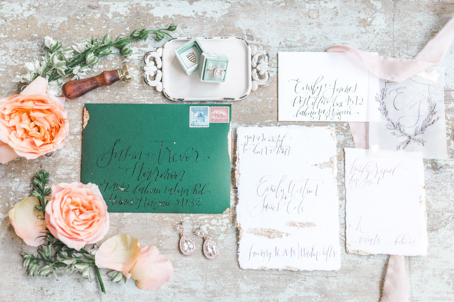 The Simple Flourish Calligraphy