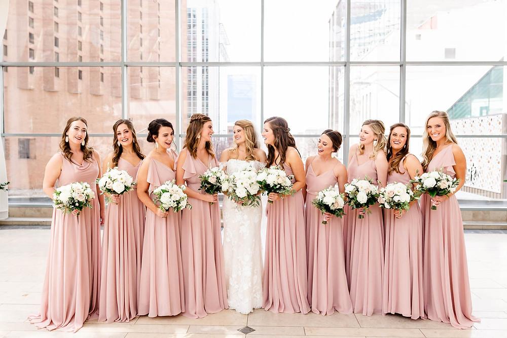 Indianapolis-Arts-Garden-Bridesmaids