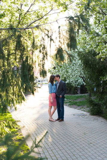 Indianapolis Engagement Session | Leah & Wes
