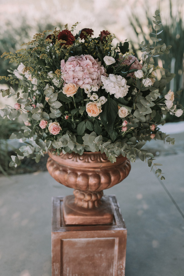 Greek Inspired Urns