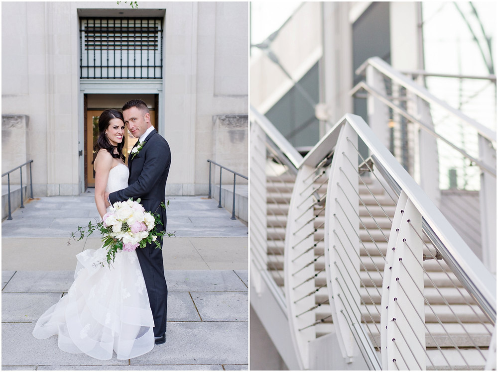 Indianapolis Library wedding