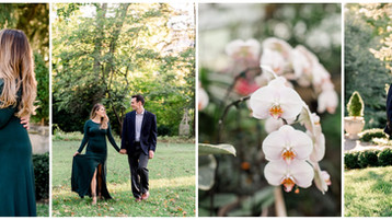 Newfields Engagment Session | Kate & David
