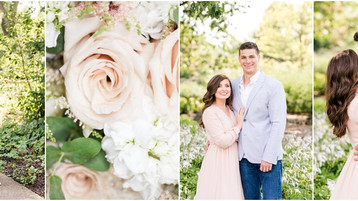 Newfields Engagement Session | Beth & Brandon