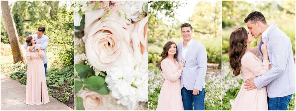 Newfields Engagement Session
