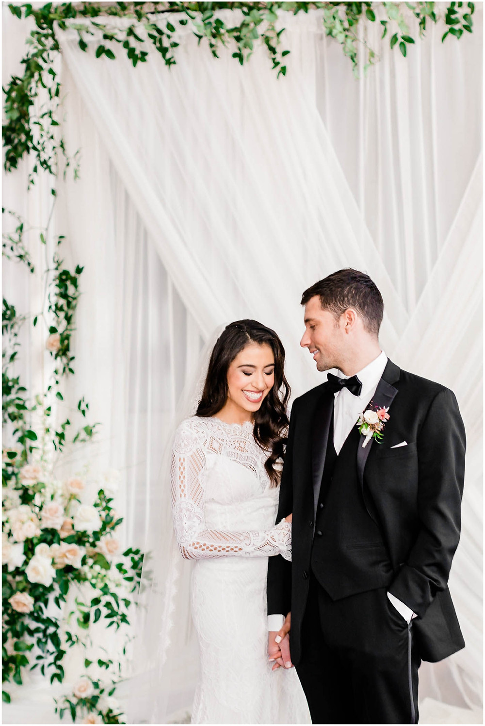 Bride-and-groom-first-look