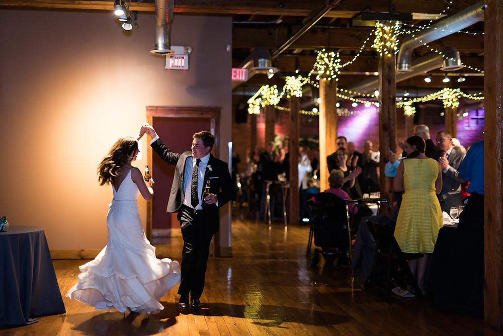Wedding reception at the Mavris