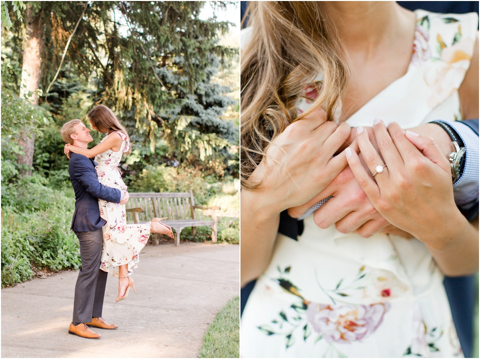 Indianapolis engagement picture ideas
