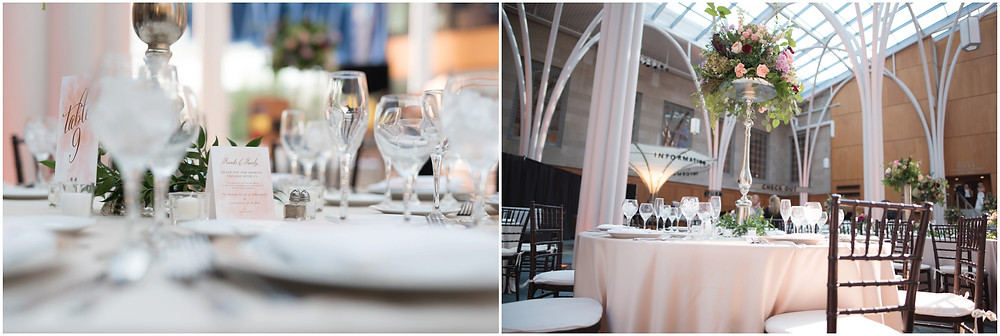 Indianapolis public library wedding reception