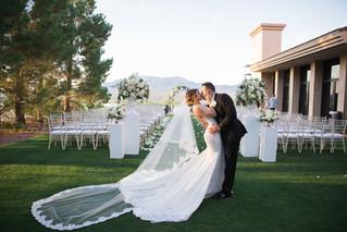 Paiute Golf Course Wedding | Nevada Wedding