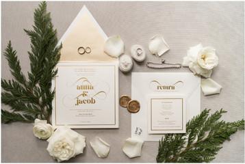 Winter Wedding at the Omni Severin Hotel | Anna & Jake