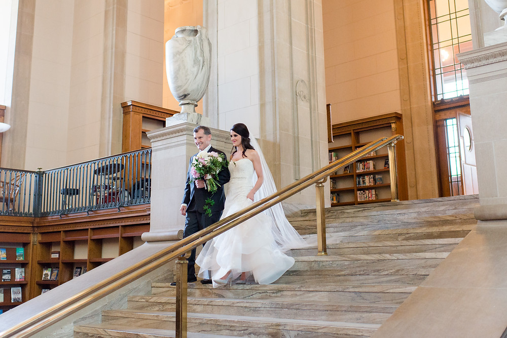 Public-Library -Wedding