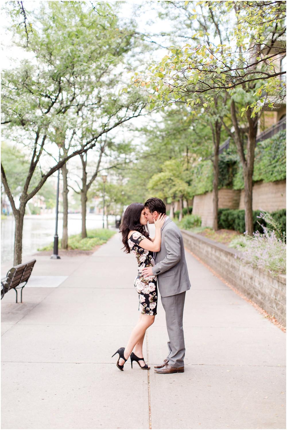 Romantic engagement  sessions