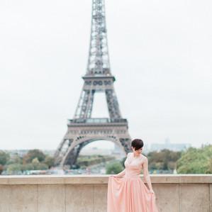 Romantic Paris Anniversary Session