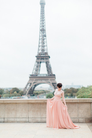 Romantic Paris Anniversary Session