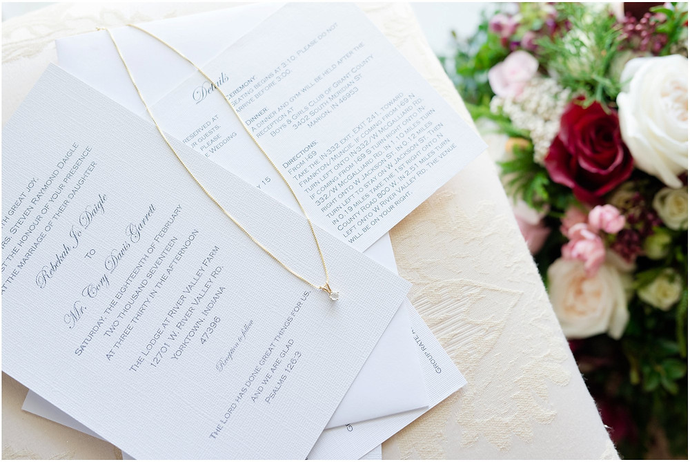 Indianapolis wedding invitations