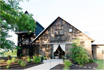 The Barn at Kennedy Farm Wedding | Hope & Matt